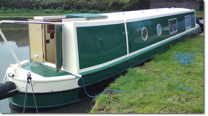 Nick Thorpe Boatbuilding - Narrowboats in Staffordshire